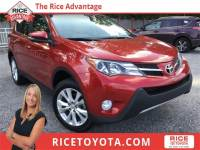 2015 Toyota RAV4 Limited SUV Front-wheel Drive