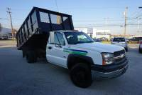 2003 Chevrolet Silverado 3500 K3500 4WD Stake Body Dump Truck