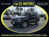 2006 Jeep Liberty Limited 4dr SUV 4WD w/ Front Side Curtain Airbags
