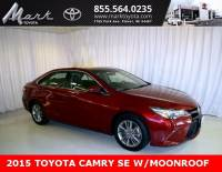 Certified Pre-Owned 2015 Toyota Camry SE w/Moonroof, Bluetooth, Backup Camera & Alloy Wh Sedan in Plover, WI