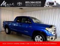 Certified Pre-Owned 2016 Toyota Tundra SR5 Double Cab 5.7L V8 4x4 w/Connected Navigation, Truck in Plover, WI