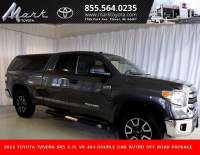 Certified Pre-Owned 2014 Toyota Tundra SR5 Double Cab 5.7L V8 4x4 w/TRD Off Road Package, Truck in Plover, WI