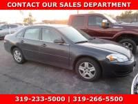 Used 2008 Chevrolet Impala LS Sedan for Sale in Waterloo IA