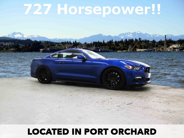 Photo New 2017 Ford Mustang Supercharged GT Premium With Navigation