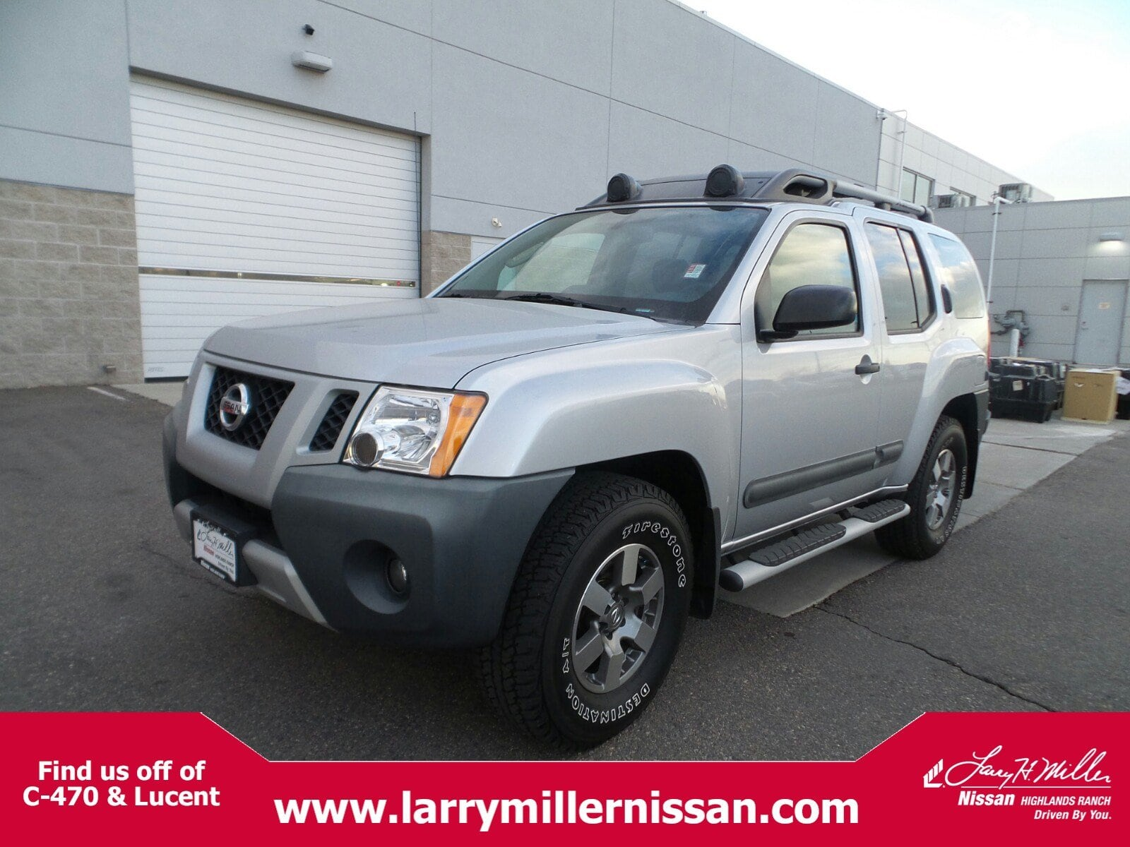 Photo Used 2012 Nissan Xterra PRO-4X 4x4 A5 SUV for sale near Denver in Highlands Ranch