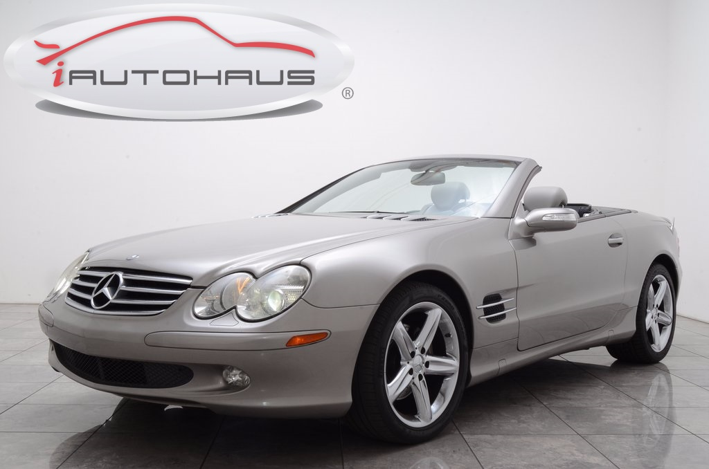 Photo Pre-Owned 2006 Mercedes-Benz SL-Class SL500 RWD 2D Convertible