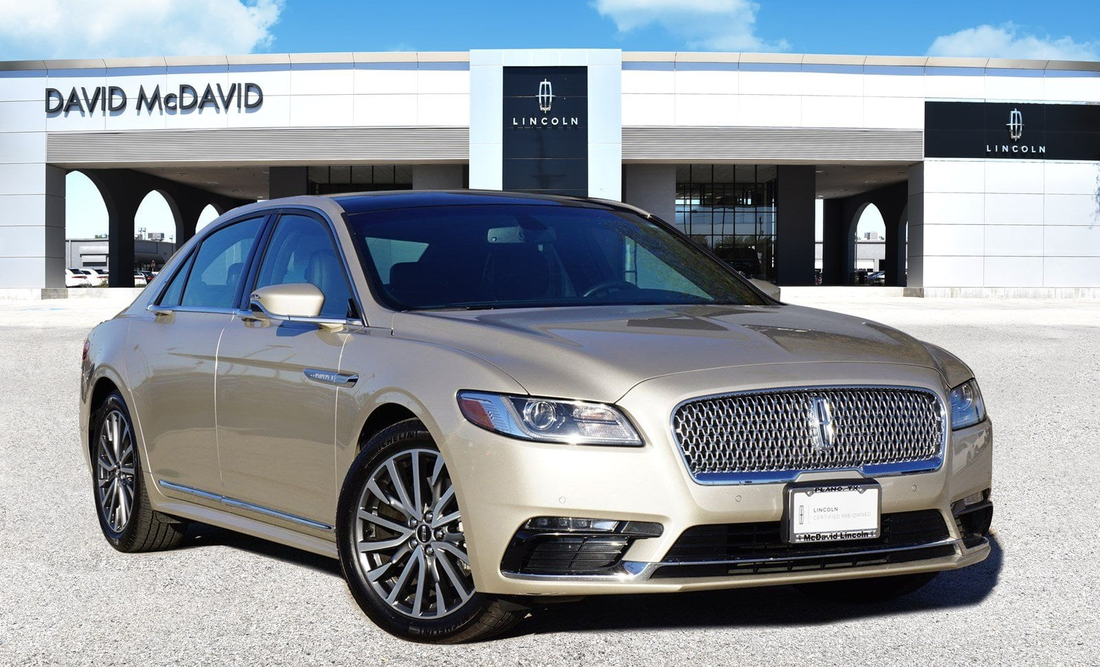 Photo Certified 2017 Lincoln Continental Select SEDAN TIVCT V6 ENGINE in PlanoDallasFort Worth TX