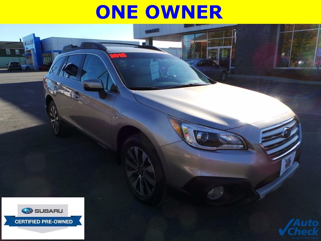 Photo Used 2015 Subaru Outback 2.5i Limited For Sale  Plattsburgh NY