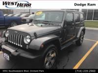 2017 Jeep Wrangler Unlimited Unlimited Sahara SUV