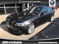 Used 2015 BMW 528i 528i Sedan Rear-wheel Drive in Arlington