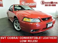 1999 Ford Mustang SVT Cobra 2dr Convertible