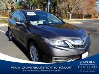 Certified 2016 Acura RDX Base w/Technology Package A6 in Richmond VA