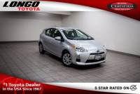 Certified Used 2014 Toyota Prius c Two in El Monte