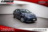 Certified Used 2017 Toyota Corolla LE CVT Automatic in El Monte