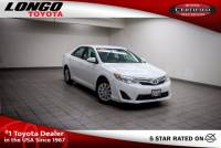 Certified Used 2014 Toyota Camry 2014.5 I4 Automatic LE in El Monte