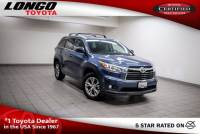 Certified Used 2015 Toyota Highlander FWD V6 XLE in El Monte