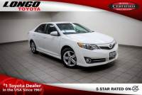 Certified Used 2014 Toyota Camry 2014.5 I4 Automatic SE in El Monte