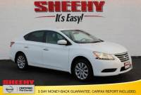 Certified Pre-Owned 2015 Nissan Sentra SV Sedan in Manassas, VA