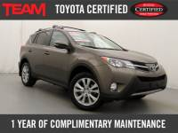 Certified Used 2014 Toyota RAV4 4WD Limited for sale in Glen Mills PA