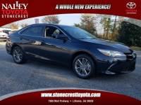 Certified 2017 Toyota Camry SE Sedan Front-wheel Drive in Atlanta GA