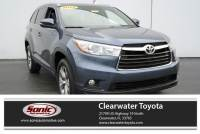 2015 Toyota Highlander XLE FWD 4dr V6 Natl SUV in Clearwater