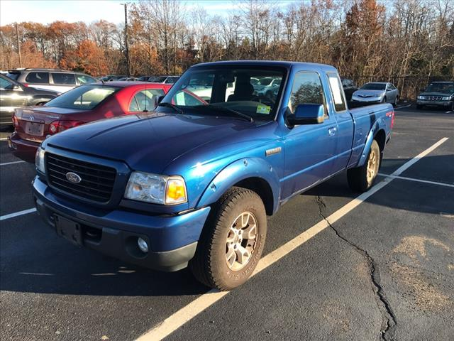 Photo Pre-Owned 2009 Ford Ranger 4x4 Sport 2dr SuperCab SB w Payload Package andor Jumpseats 4WD