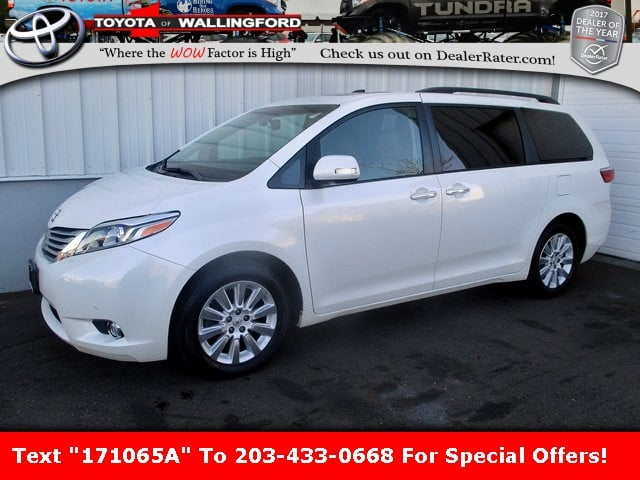 Photo Certified Used 2015 Toyota Sienna Limited Premium For Sale in Wallingford CT  5TDDK3DC9FS111279