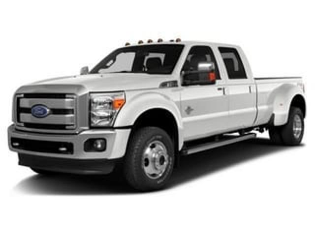 Photo 2016 Used Ford Super Duty F-350 DRW 4WD Crew Cab 172 Lariat For Sale in Moline IL  Serving Quad Cities, Davenport, Rock Island or Bettendorf  C1851B