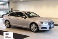 Certified Pre-Owned 2017 Audi A4 2.0T Sedan for Sale in Beaverton,OR