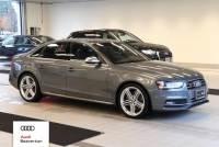 Certified Pre-Owned 2014 Audi S4 3.0T Sedan for Sale in Beaverton,OR
