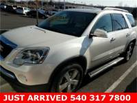 2012 GMC Acadia SLT-2 SUV All-wheel Drive