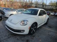 2012 Volkswagen Beetle White Turbo PZEV 2dr Coupe