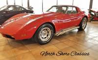 1974 Chevrolet Corvette -STINGRAY-T-TOPS-4 SPEED MANUAL-SPLIT BUMPER-SIDE PIPES-
