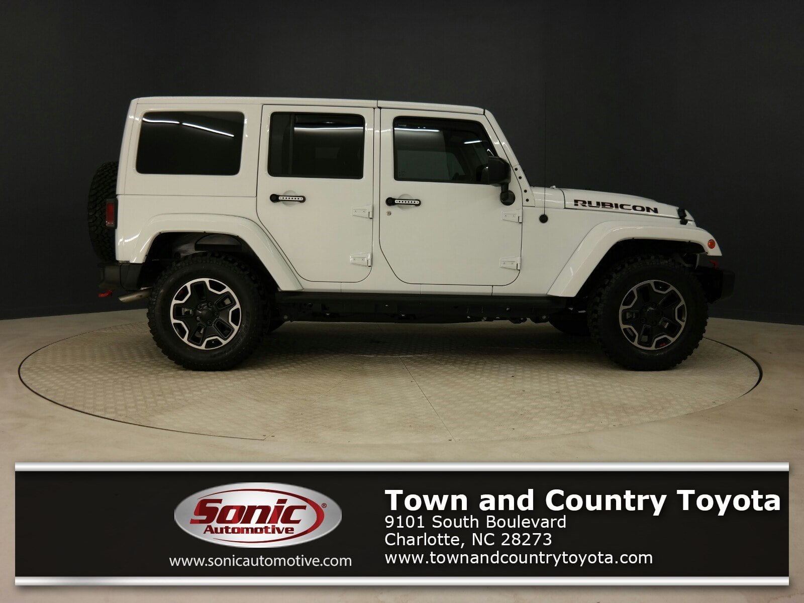 Photo Used 2017 Jeep Wrangler Unlimited Rubicon Hard Rock 4x4 Ltd Avail SUV in Charlotte