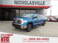 2016 Toyota Tundra 4WD Double Cab Long Bed 5.7L FFV V8 SR5