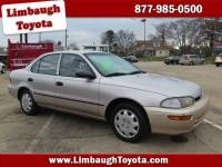 Pre-Owned 1997 Geo Prizm 4DR SDN FWD 4dr Car