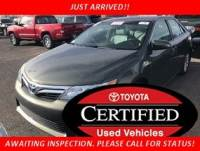 Certified Pre-Owned 2014 Toyota Camry Hybrid XLE FWD Sedan