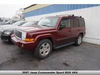 Used 2007 Jeep Commander Sport for sale near Detroit