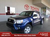Certified 2015 Toyota Tacoma 4x4 V6 Truck Double Cab in Albuquerque, NM
