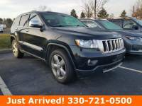2012 Jeep Grand Cherokee 4x4 Overland 4dr SUV