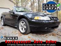 1999 Ford Mustang GT Convertible 5-Speed Black Leather 1-Owner 111K