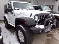 2015 Jeep Wrangler 4x4 Willys Wheeler Edition 2dr SUV