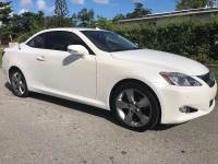 2010 Lexus IS 250C Base 2dr Convertible 6A