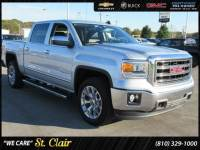 Certified Pre-Owned 2015 GMC Sierra 1500 SLT Short Bed For Sale Saint Clair, Michigan