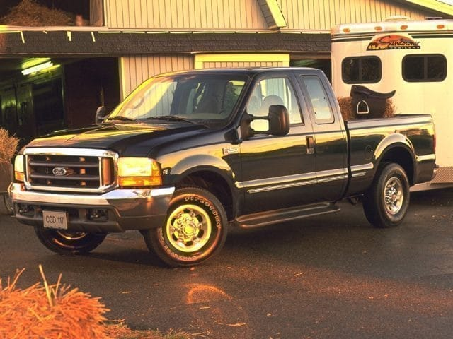 Photo Used 1999 Ford Super Duty F-250 Supercab 158 XLT For Sale Near Anderson, Greenville, Seneca SC