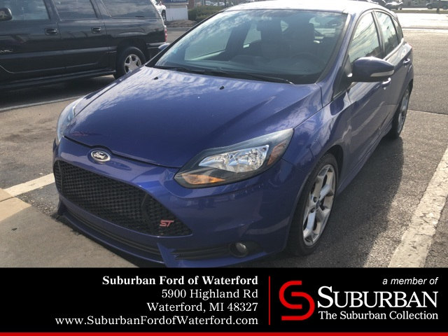 Photo Used 2013 Ford Focus ST ST Hatchback I-4 cyl in Waterford, MI
