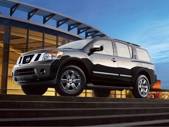Photo Pre-Owned 2012 Nissan Armada SUV For Sale  Asheville NC
