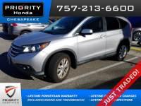 Certified Pre-Owned 2012 Honda CR-V EX SUV in Chesapeake, VA, near Virginia Beach
