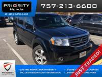 Certified Pre-Owned 2015 Honda Pilot EX-L FWD SUV in Chesapeake, VA, near Virginia Beach