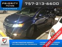 Certified Pre-Owned 2015 Honda Odyssey Touring Van in Chesapeake, VA, near Virginia Beach